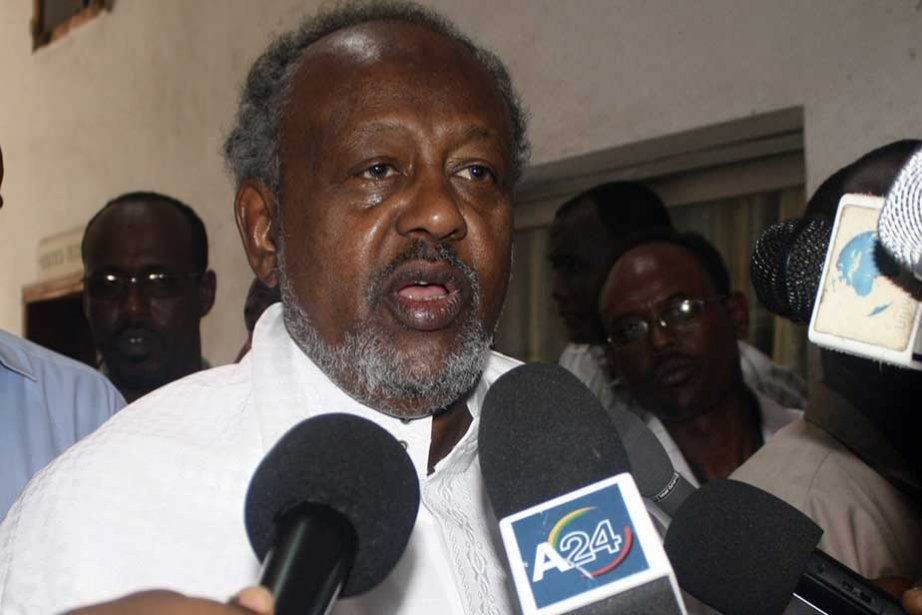 M. Guelleh, 63 ans, est crédité de 79,26%... (Photo Associated Press)