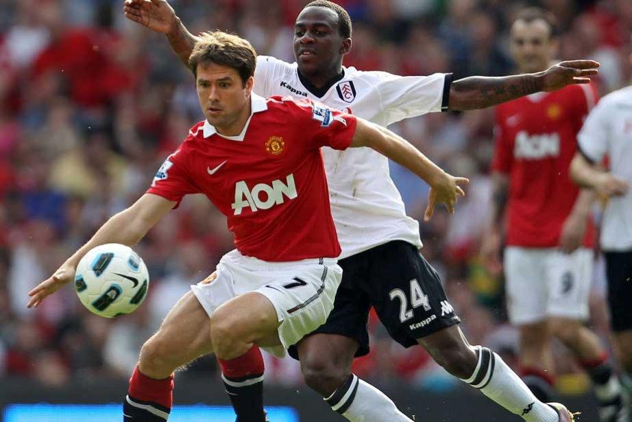 Michael Owen de Manchester United.... (Photo AFP)