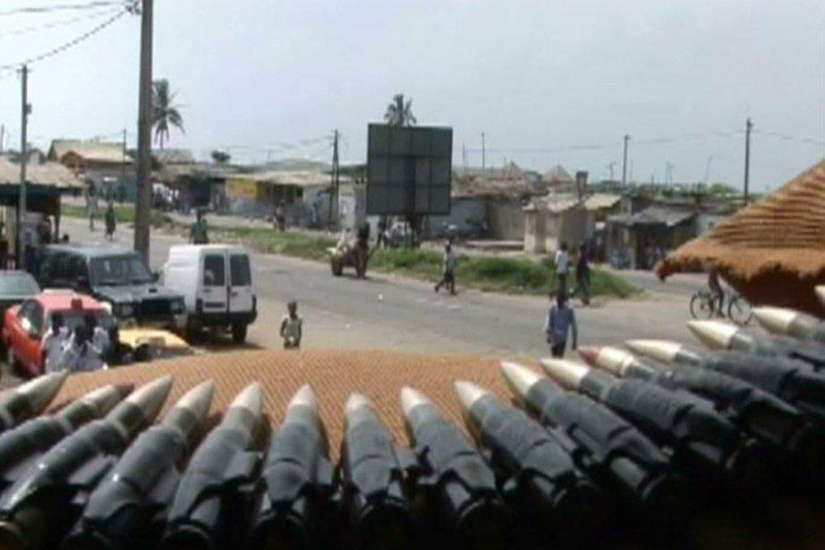Les forces du camp Ouattara ont relancé l'offensive... (Photo: AFP)