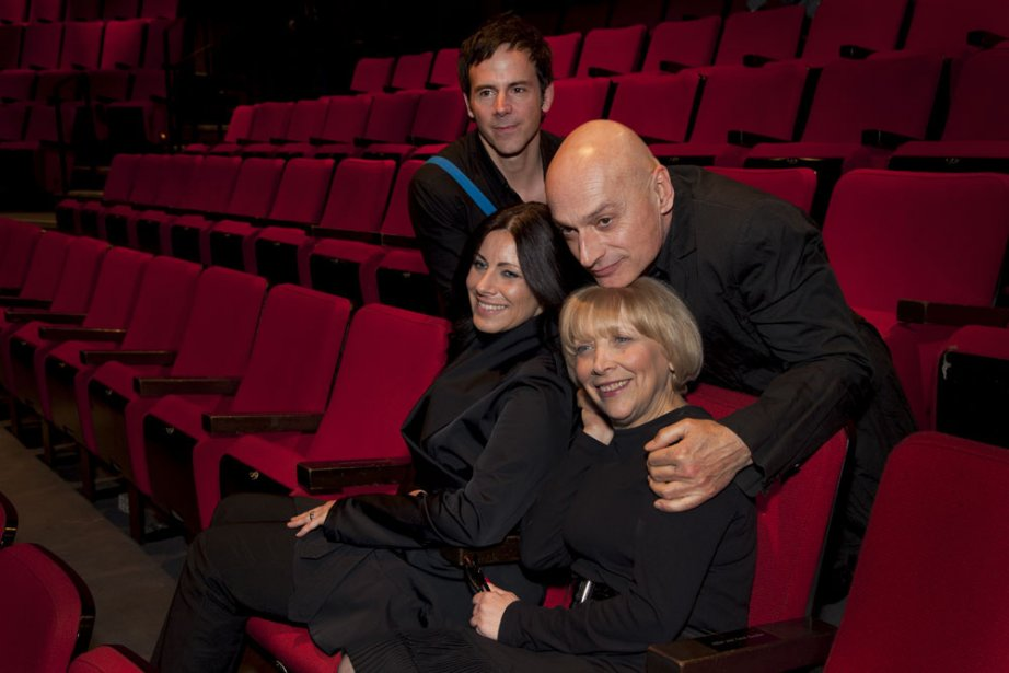 Éric Bernier (en haut), Manon Gauthier (à gauche),... (Photo: fournie par le Centre Segal)