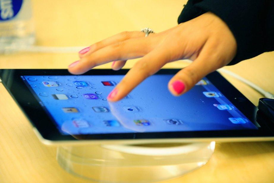 L'iPad 2 d'Apple.... (Photo: AFP)