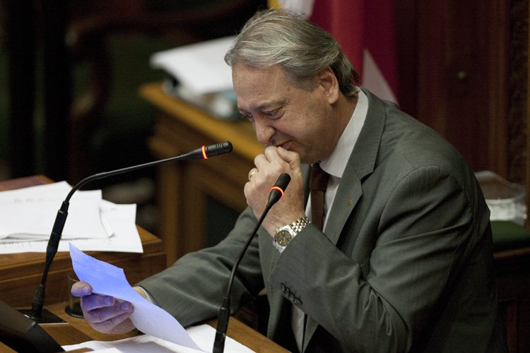 Claude Dauphin a annoncé qu'il se retirait à... (Photo: André Pichette, La Presse)