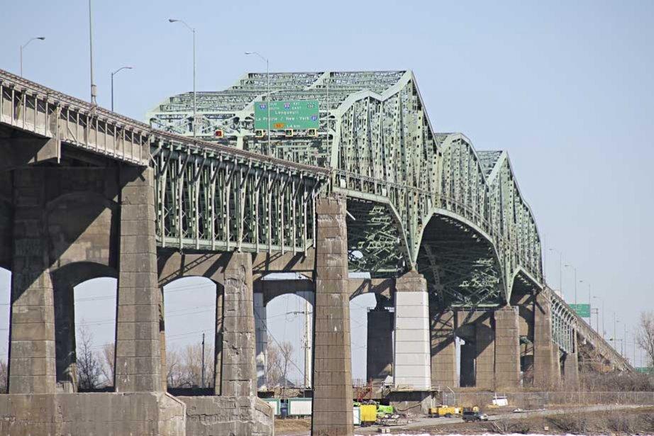 Le pont Champlain... (Photo François Roy, La Presse)