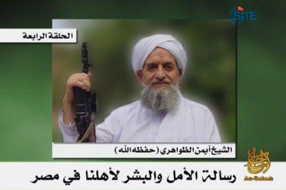 Ayman al-Zawahiri (ici sur une vidéo plus ancienne),... (Photo: AFP)