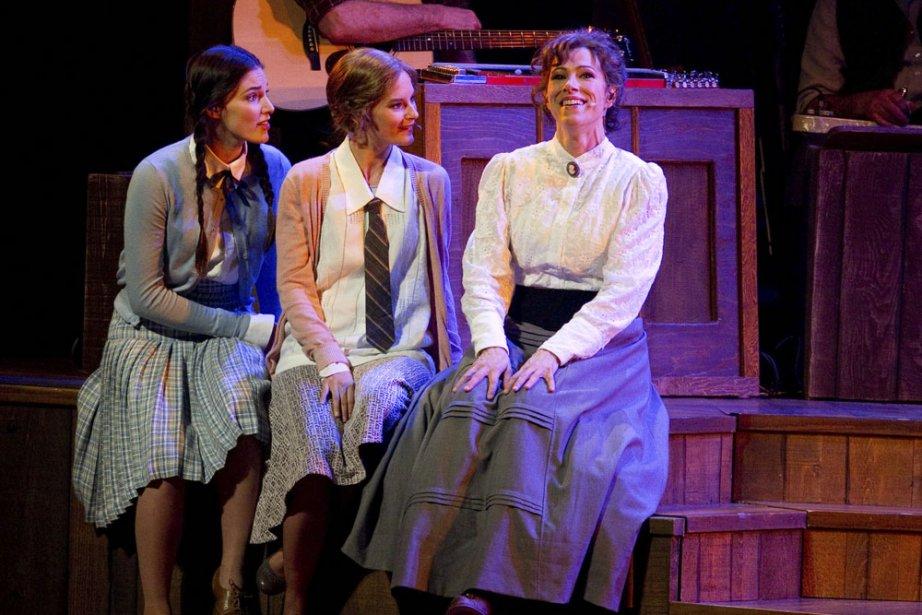 Élise (Carolanne D'Astous-Paquet), Blanche (Stéphanie Lapointe) et Émilie... (Photo: Hugo-Sébastien Aubert, La Presse)