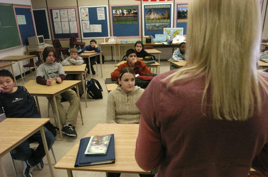 Une vaste majorité d'enseignants s'acquittent de leur tâche... (PHOTO: LOUIE PALU, ARCHIVES THE GLOBE AND MAIL)