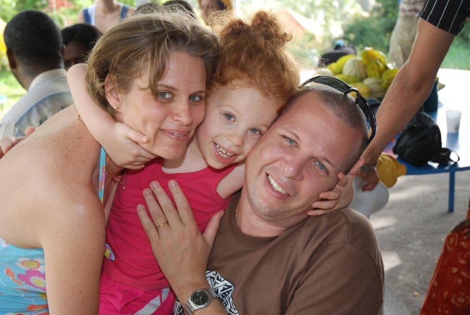 La famille Barlagne, menacée d'expulsion du Canada parce... (PHOTO: ARCHIVES LA PRESSE)