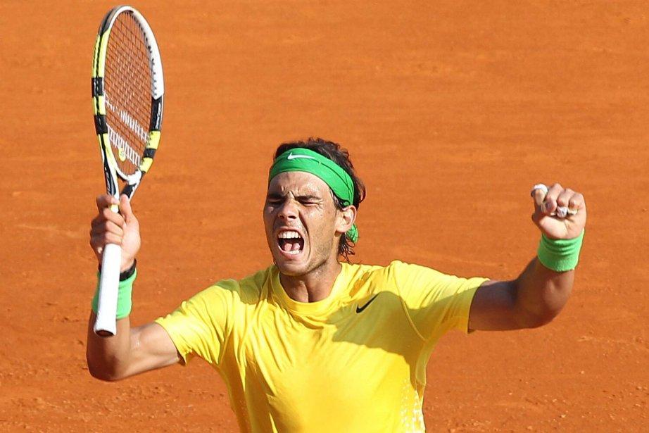 À Monte-Carlo, Nadal a remporté le 44e titre... (Photo: AFP)