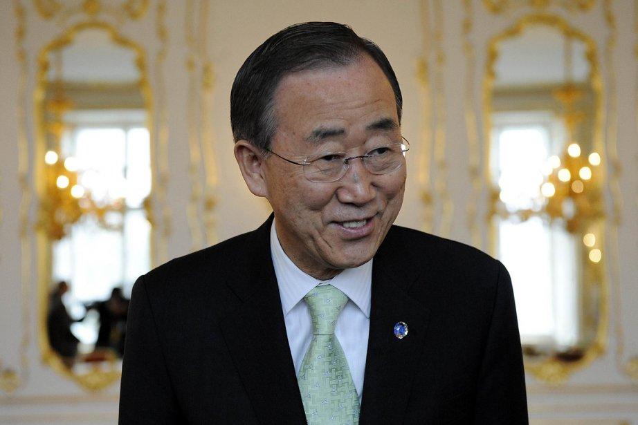 Ban Ki-moon a été critiqué pour ses réticences... (Photo: AFP)