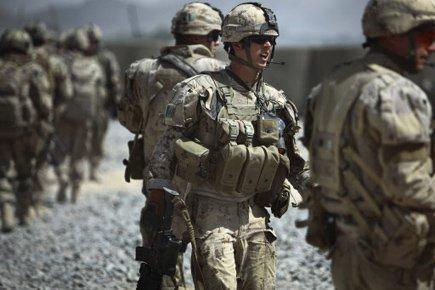 C'est jour de scrutin pour les soldats canadiens en Afghanistan. (Photo: AP)