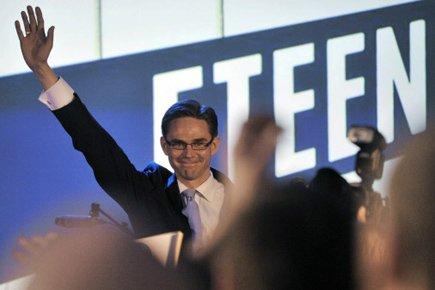 «Mes chers amis, nous avons écrit l'histoire!», s'est... (Photo: AFP)