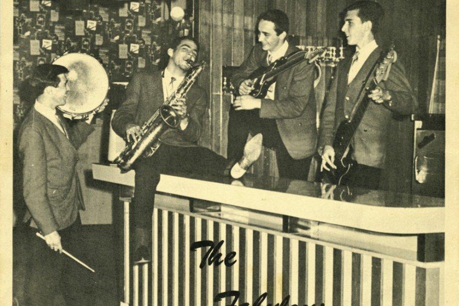 Photo  d'archives des Fabulous Kernels, premier groupe... (Photo: Collection Félix B. Desfossés/Musée du rock'n'roll du Québec)