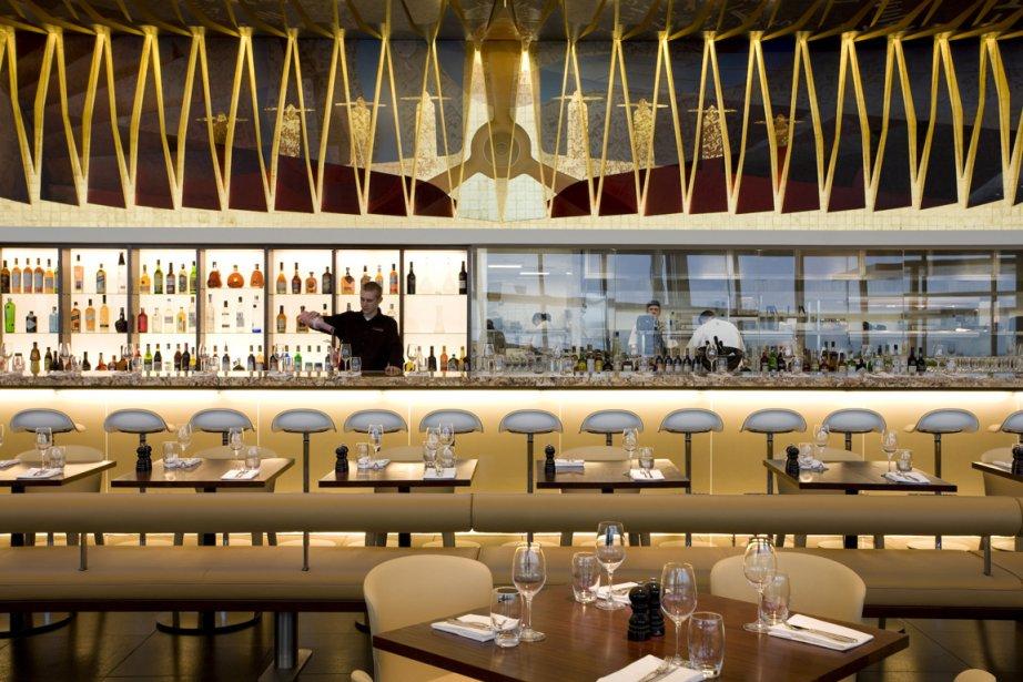 Le restaurant du Gordon Ramsay, Plane Food, à... (Photo fournie par l'aéroport d'Heathrow)
