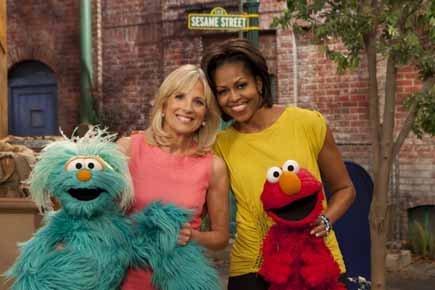 Jill Biden et Michelle Obama, qui ont récemment... (Photo: Reuters)