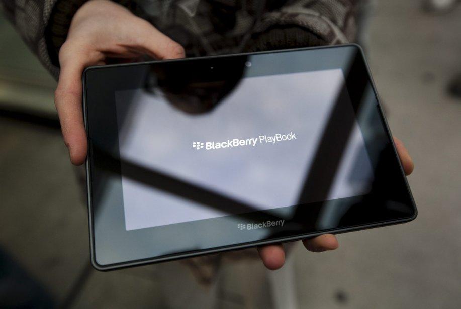 Le PlayBook de RIM est plus petit que... (Photo Darren Calabrese, La Presse Canadienne)