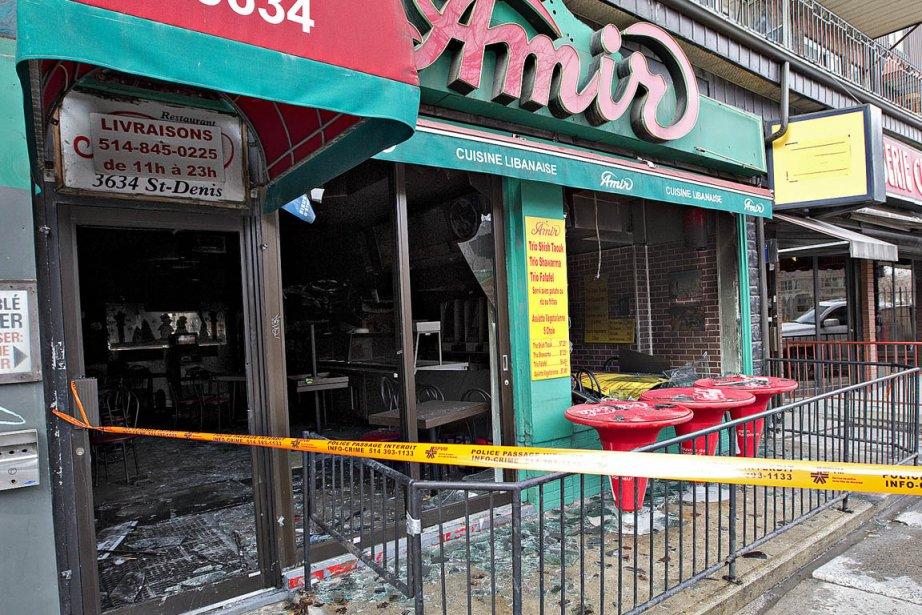 Un restaurant de montr al ravag par un incendie criminel - Cuisine libanaise montreal ...