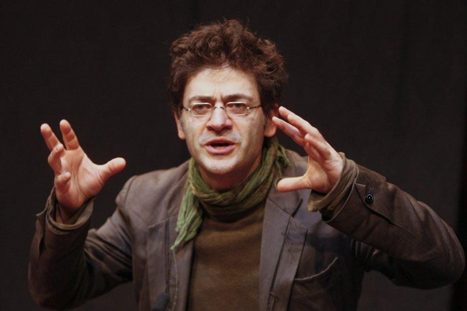 Le dramaturge et metteur en scène, Wajdi Mouawad,... (PHOTO: MARTIN ROY, LE DROIT)