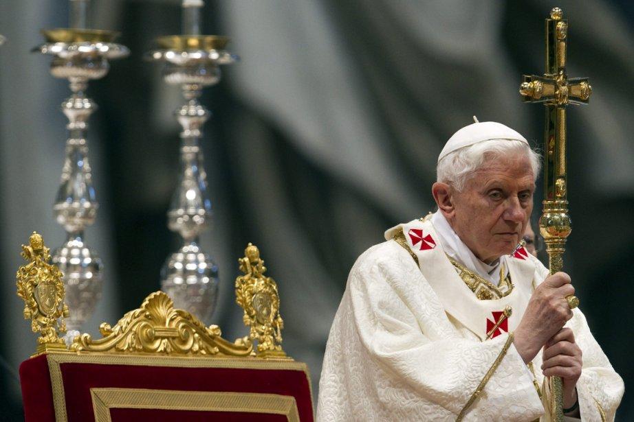 Benoît XVI.... (Photo: AFP)