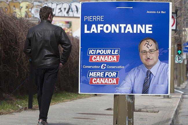 Le Parti conservateur a recensé rapidement une douzaine... (Photo: Robert Skinner, La Presse)