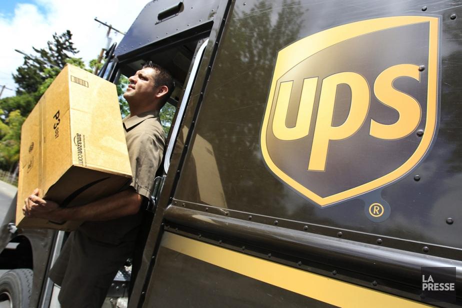 Le groupe américain de la livraison de colis United... (Photo Associated Press)