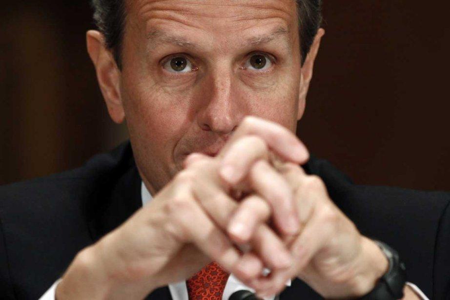 Le secrétaire au Trésor américain Timothy Geithner.... (Photo AP)