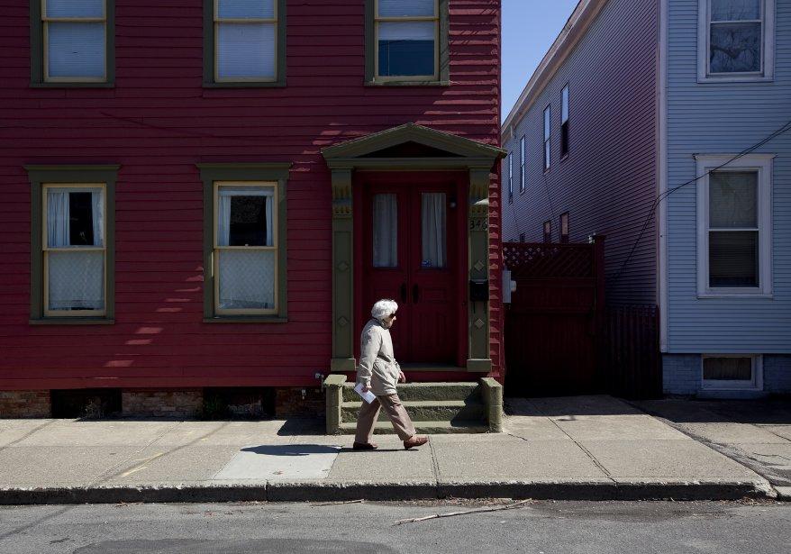 Paysage urbain à Hudson. (Marco Campanozzi, La Presse)