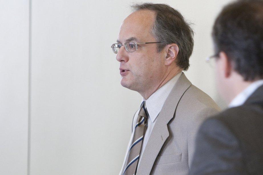 Le pathologiste André Bourgault, qui a réalisé l'autopsie... (Photo: Hugo-Sébastien Aubert, La Presse)