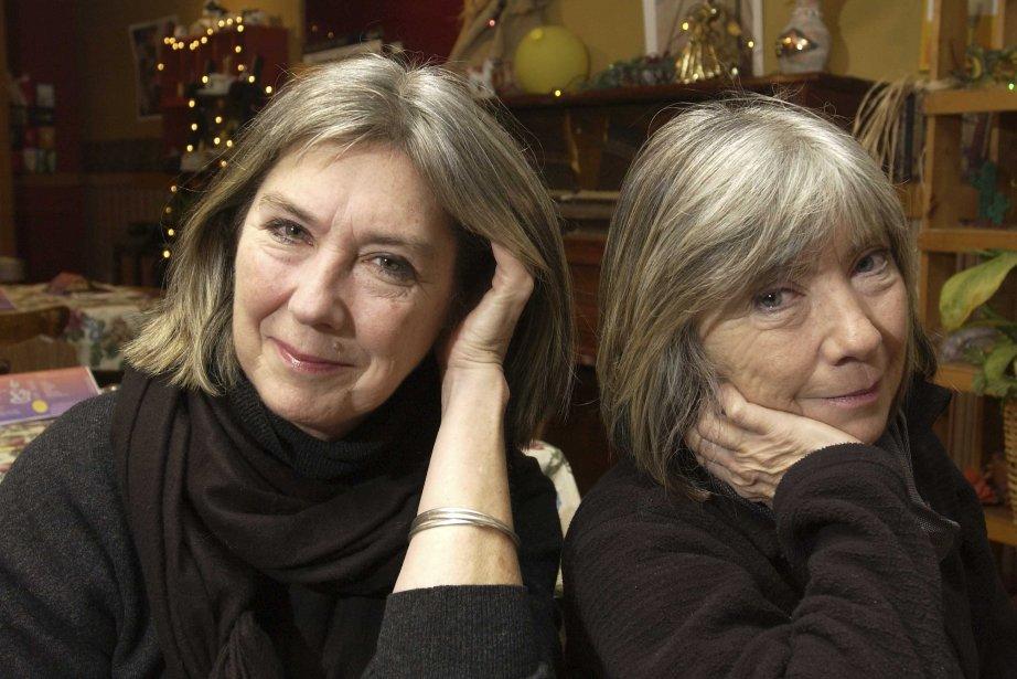 Les soeurs Kate et Anna McGarrigle en novembre... (Photo: Robert Mailloux, Archives La Presse)