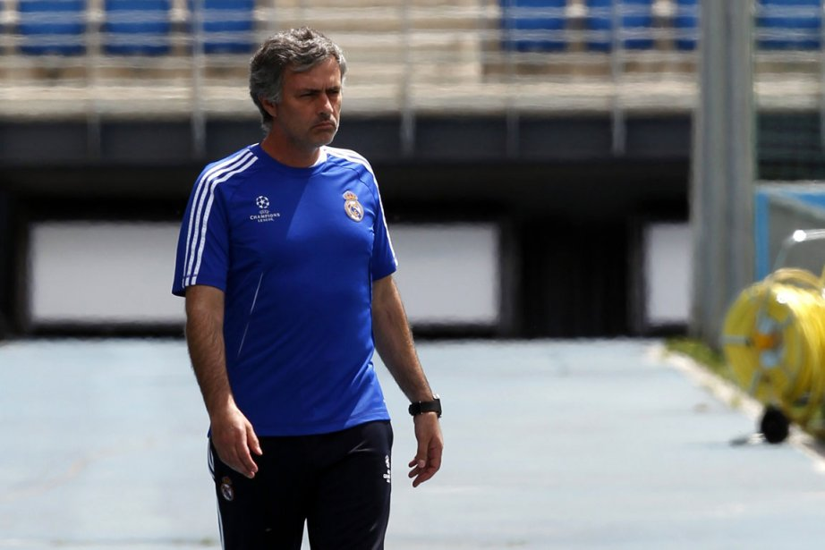 L'entraîneur du Real Madrid, José Mourinho.... (Photo: Reuters)