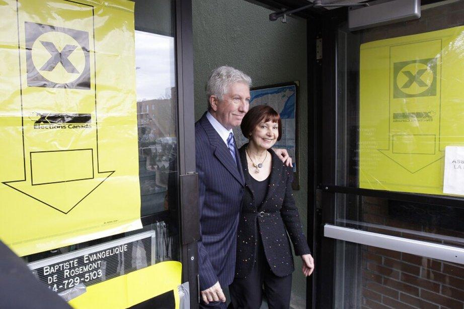 Gilles Duceppe a voté ce matin et il... (Photo: Alain Roberge, La Presse)