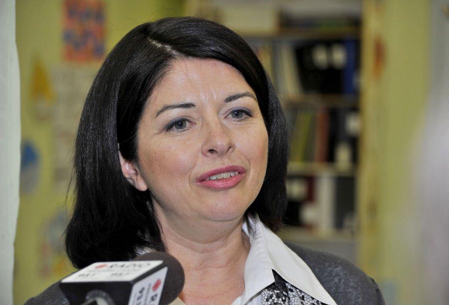 Mais selon la ministre de l'Éducation, Line Beauchamp,... (Photo: Le Quotidien)