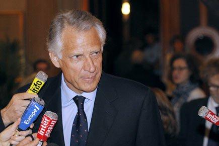 Dominique de Villepin... (Photo: AFP)