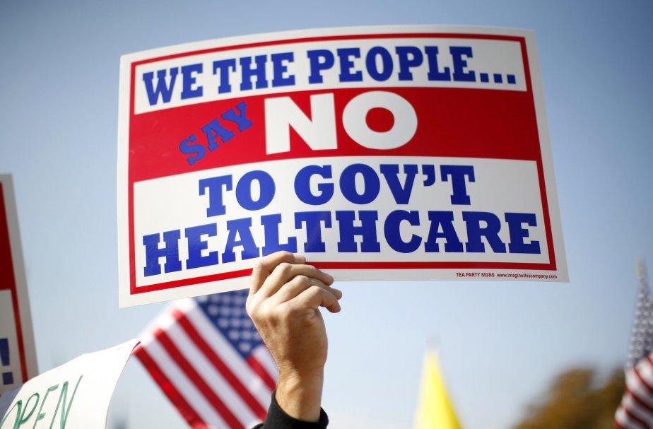 La réforme du système de santé américain a... (PHOTO: KEVIN LAMARQUE, ARCHIVES REUTERS)