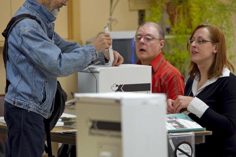 Dans l'ensemble, le vote qui a eu lieu hier... (Photo: Alain Roberge, La Presse)