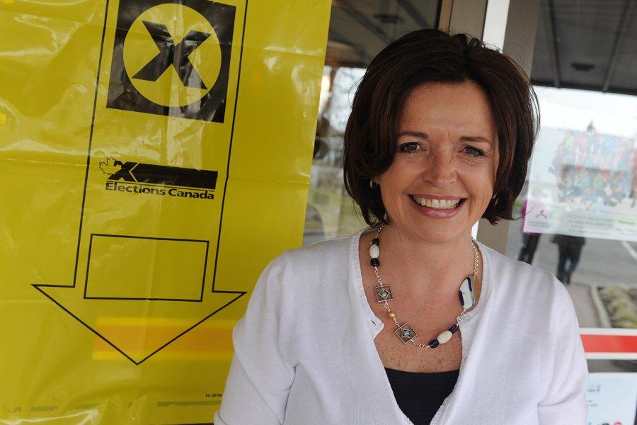 Annick Papillon du NPD a défait Christiane Gagnon... (Photo: Erick Labbé, Le Soleil)