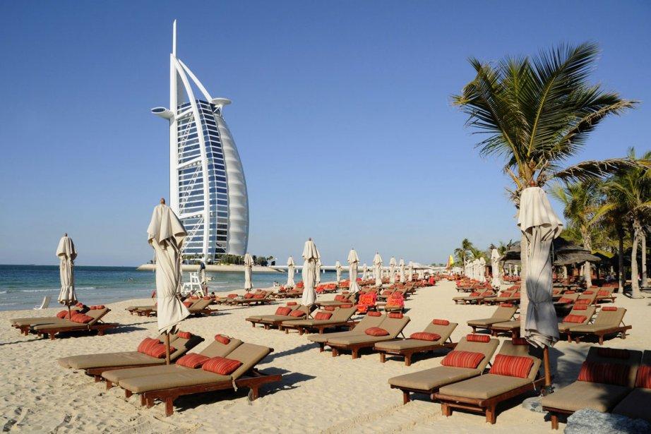 Dubaï, plaque tournante commerciale et financière, est l'un... (Photo: Bloomberg News)