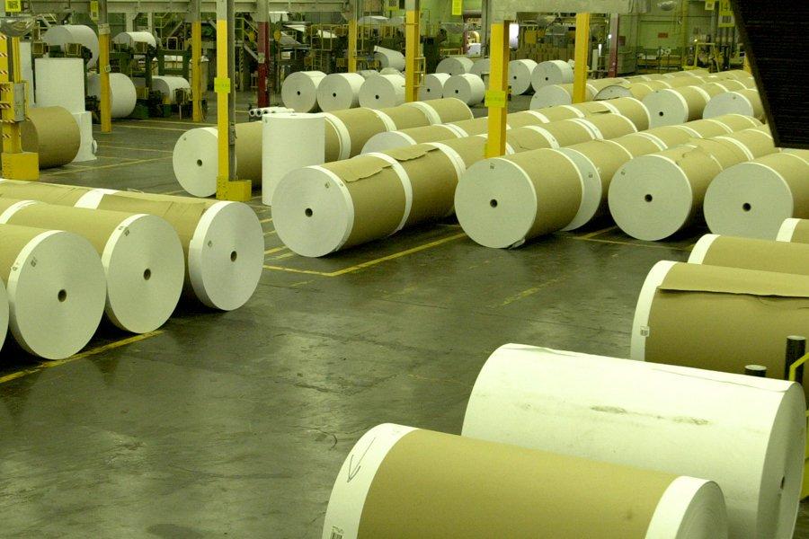 Le producteur de papier Domtar continue de... (Photo: archives La Presse)