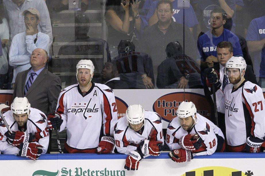 Les Caps sont sur le point de s'effondrer.... (Photo: AP)
