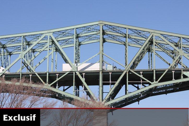 «Le pont Champlain et ses approches sont une... (Photo: François Roy, La Presse)