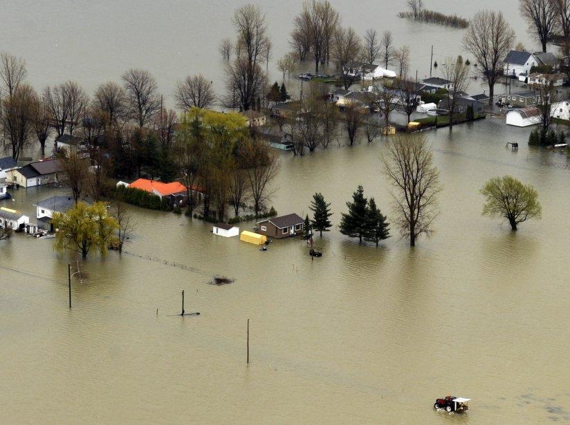 La région de Saint-Jean-sur-Richelieu est particulièrement touchée par... (PHOTO: BERNARD BRAULT, LA PRESSE)