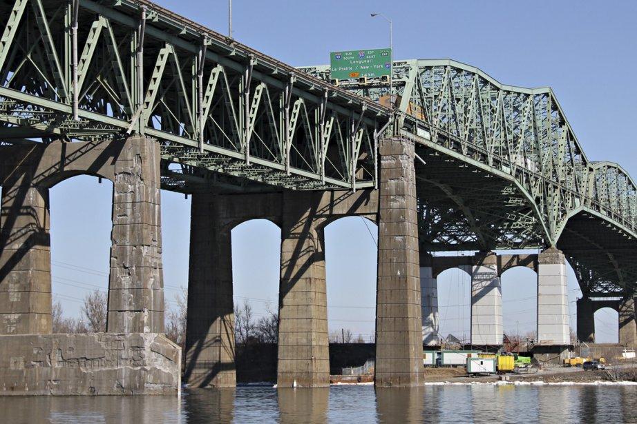 Le pont Champlain relève du gouvernement fédéral. Mais... (Photo: François Roy, La Presse)