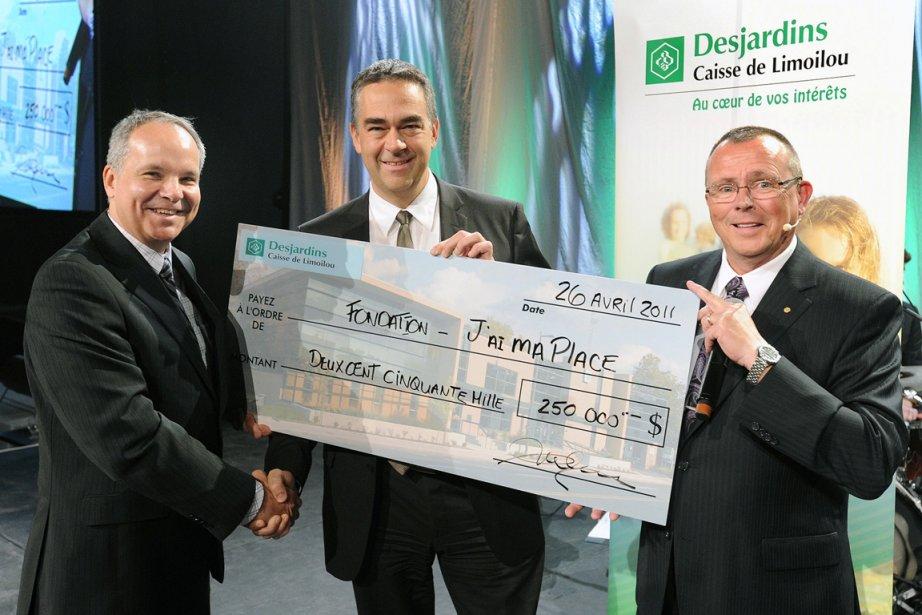Daniel A. Denis, président de la Caisse Desjardins...