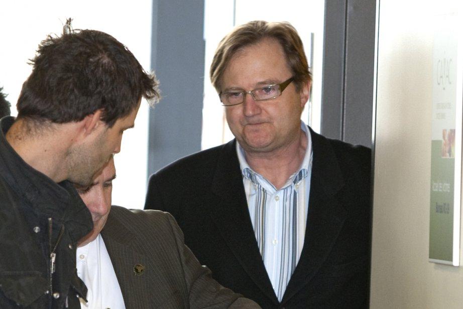Le coach de vie Luc Tanguay (à droite... (Photo: Alain Roberge, La Presse)