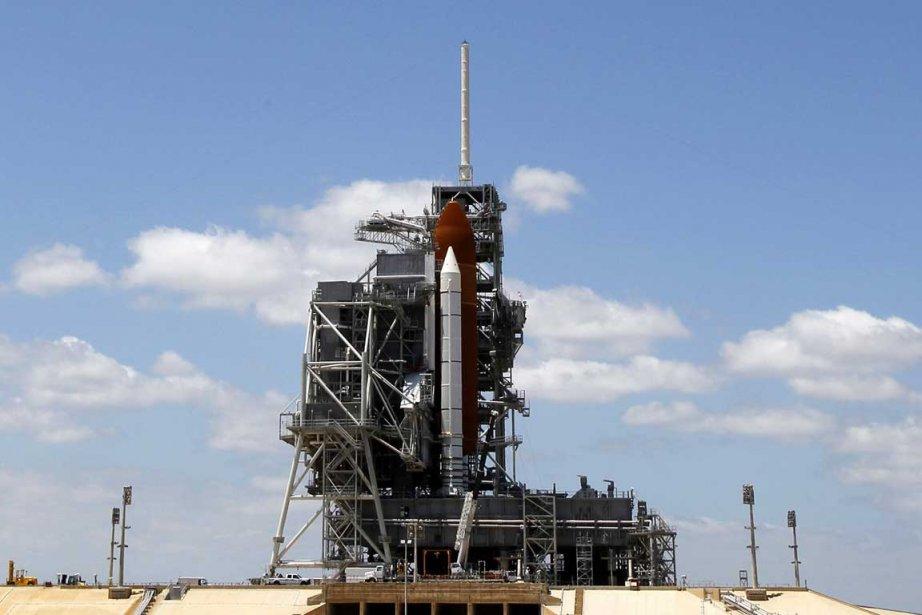 Le lancement de la navette spatiale américaine... (Photo Reuters)