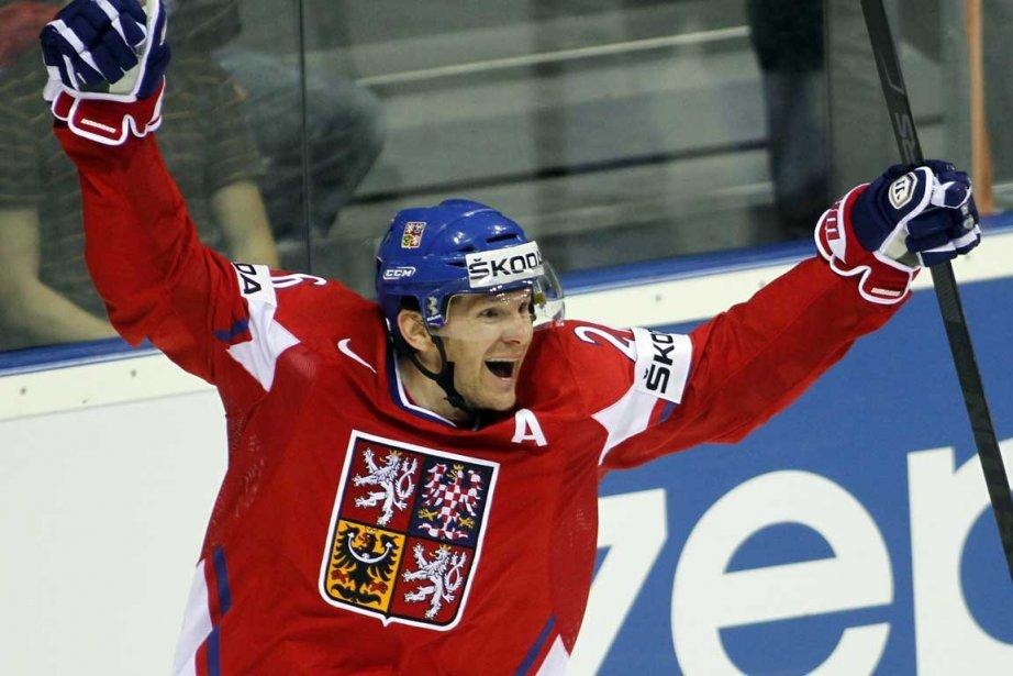 Patrik Elias... (Photo AFP)