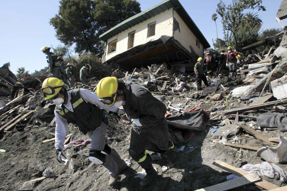 Des séismes majeurs ont été enregistrés ces dernières... (Photo: Reuters)