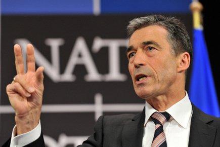 Anders FoghRasmussen... (Photo: AFP)