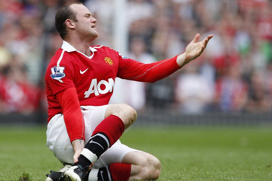 Wayne Rooney... (Photo: Reuters)