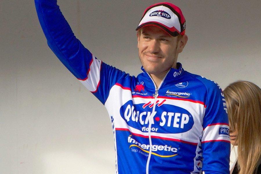 Le Belge Wouter Weylandt est le premier coureur... (Photo: archives AFP)