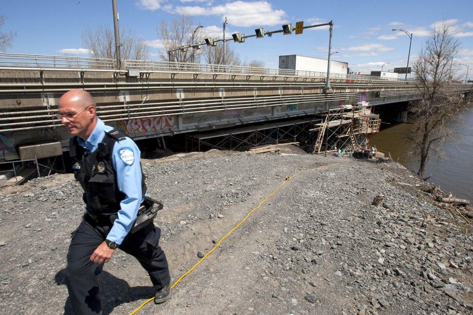 Le SPVM a dévoilé l'endroit où le corps... (Photo: Alain Roberge, La Presse)